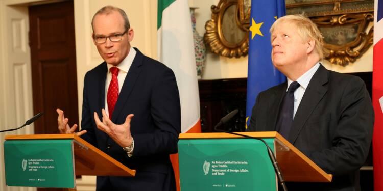 Brexit: Johnson appelle Bruxelles à avancer pour régler la question irlandaise