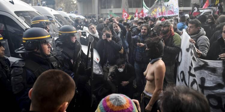 """Une """"marche sur l'Elysée"""" pour dénoncer la """"politique anti-sociale"""" de Macron"""