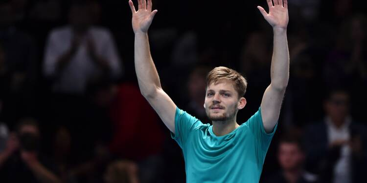 Masters: David Goffin crée la suprise et élimine Roger Federer en demi-finale