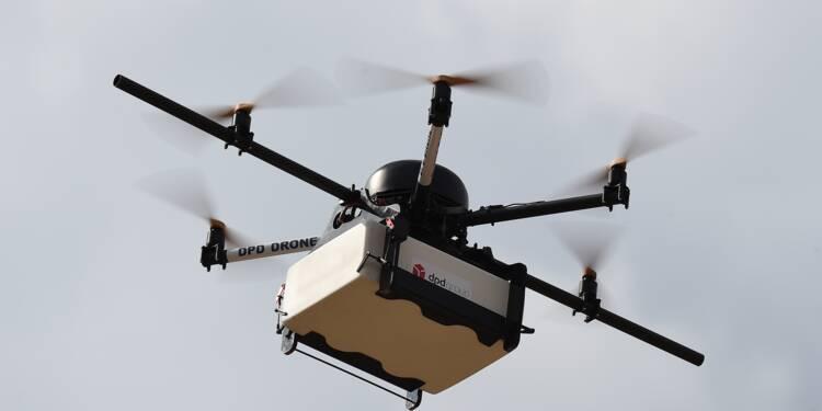 Bientôt des drones pour livrer des paquets