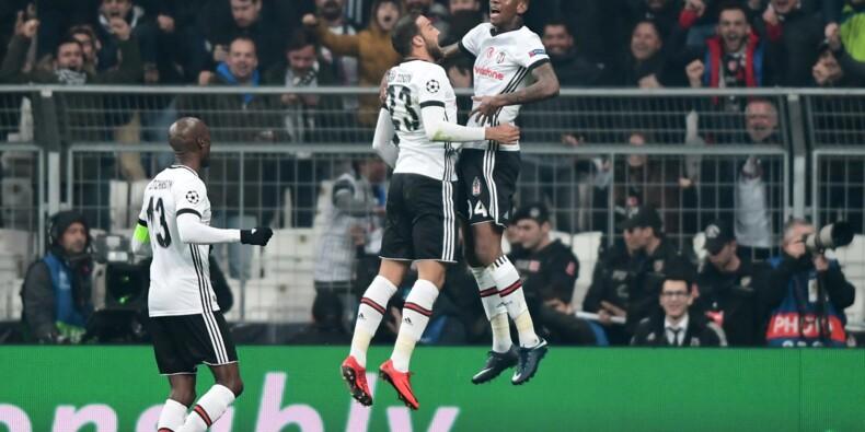 Ligue des champions: Besiktas qualifié pour les 8es, Monaco garde ses chances