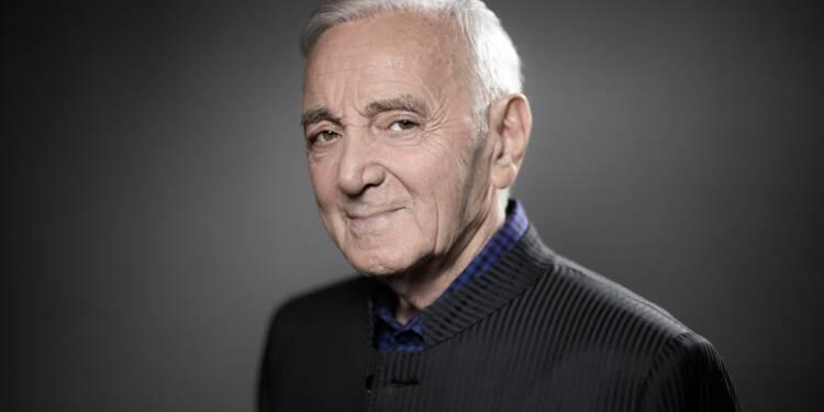 """REDIFFUSION - Charles Aznavour: """"Je ne suis pas vieux, je suis âgé. Ce n'est pas pareil"""""""