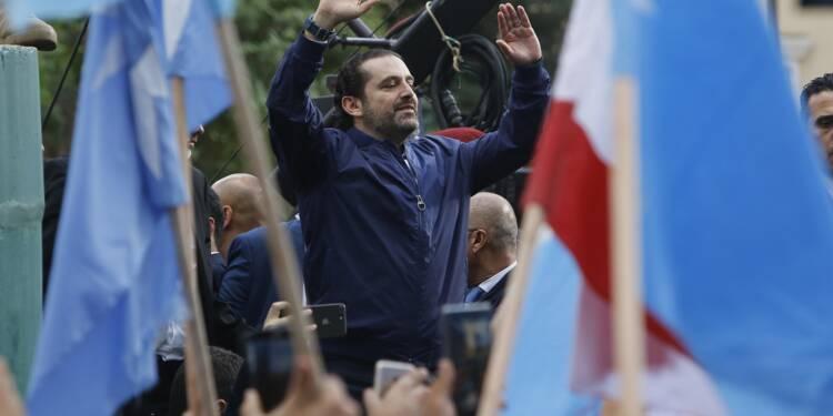 Saad Hariri suspend sa démission après son retour à Beyrouth