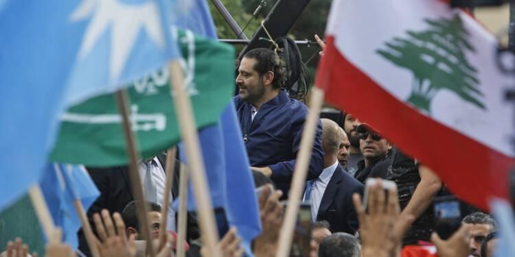 De retour à Beyrouth, Hariri acclamé en fils prodigue par ses partisans
