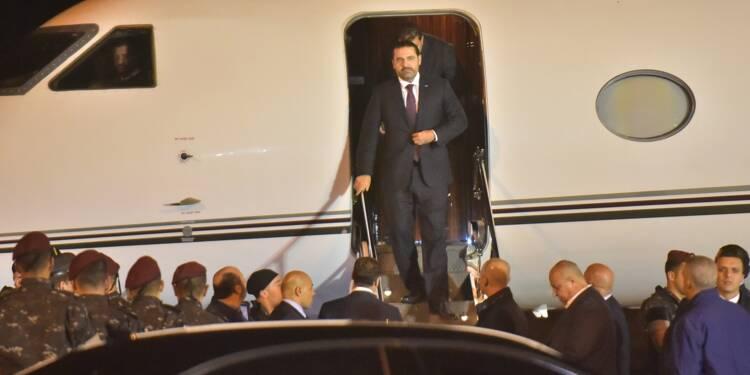 Le Liban suspendu à la décision de Hariri, de retour au pays