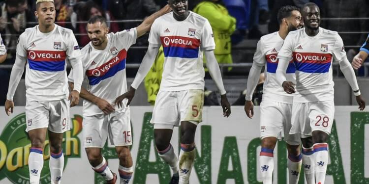 Europa League: Lyon ne rate pas l'occasion de filer en 16e