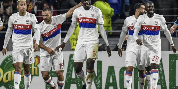 Europa League: Lyon ne rate pas l'occasion de filer en 16e