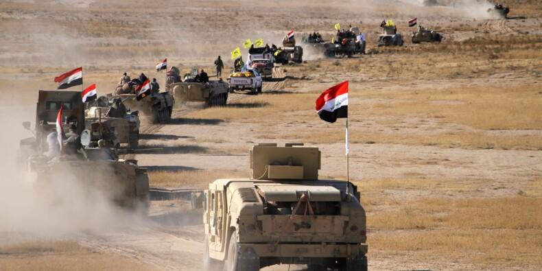Bataille finale dans le désert pour éradiquer l'EI en Irak