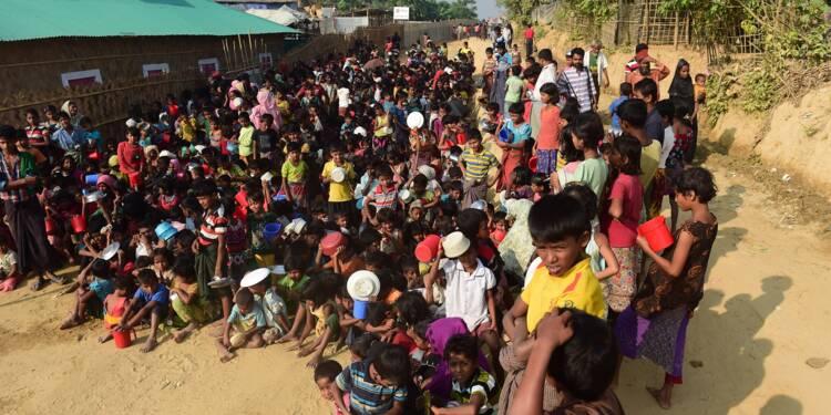 """Rohingyas: premiers retours de réfugiés en Birmanie """"dans les deux mois"""""""