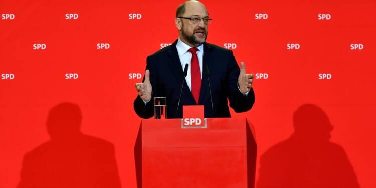 L'Allemagne fait un pas vers une sortie de crise grâce au recul du SPD