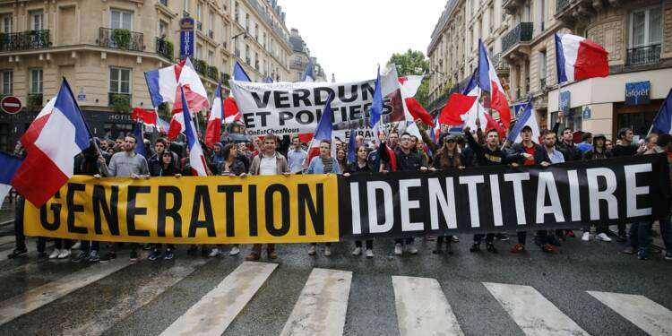 Manifestation interdite: la requête en référé de Génération Identitaire rejetée