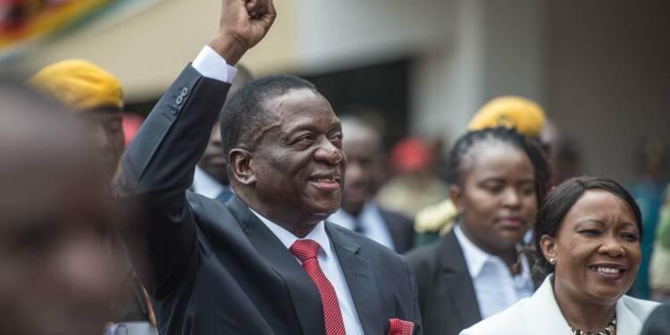 Mnangagwa promet au Zimbabwe de tourner le dos à l'ère Mugabe