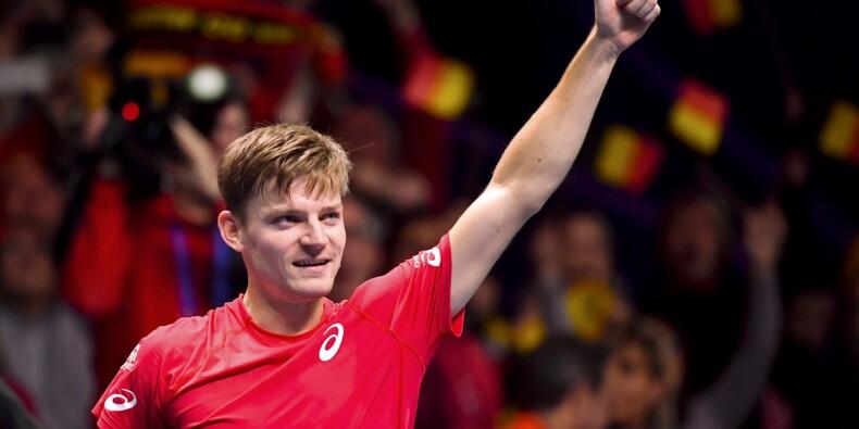 Coupe Davis: Goffin apporte le 1er point à la Belgique en finale