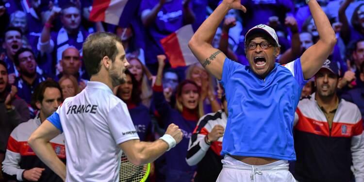 Coupe Davis: la France à un point du rêve