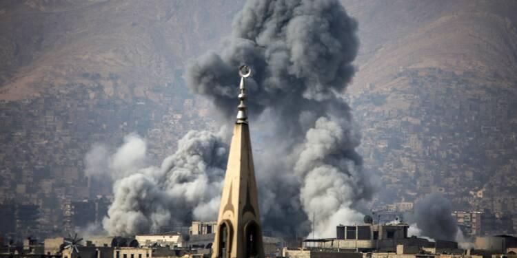 Syrie: 23 civils tués dans des bombardements du régime près de Damas
