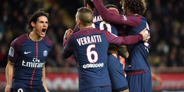 Le Paris SG prend sa revanche sur Monaco et assomme la Ligue 1