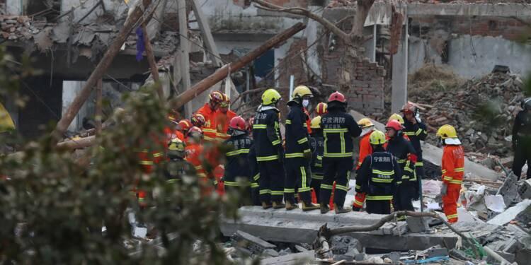 Explosion en Chine: 2 morts et 2 blessés graves