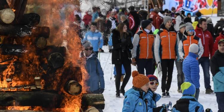 Dernier hommage en Savoie au skieur David Poisson