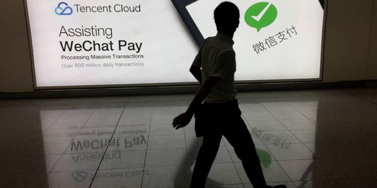 Chine: la messagerie WeChat revendique plus d'un milliard de comptes