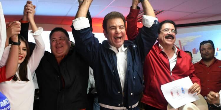 Présidentielle au Honduras: l'opposant de gauche Nasralla en tête