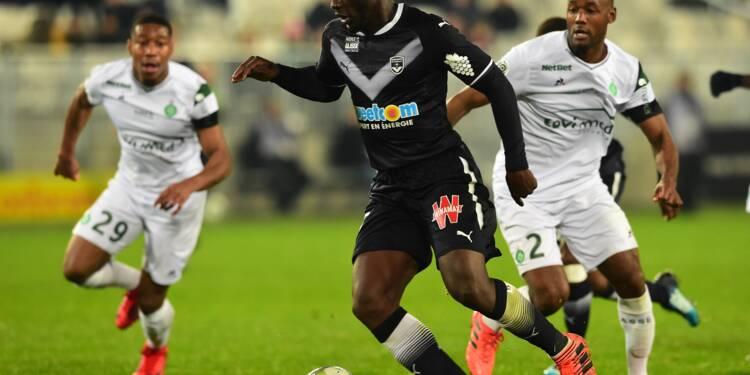 L1: Bordeaux enfonce Saint-Etienne, Amiens confirme, Caen accroché