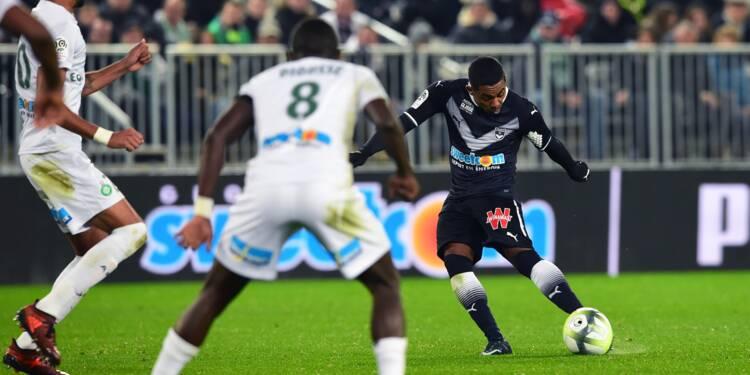 L1: Bordeaux retrouve la victoire devant des Verts inquiétants