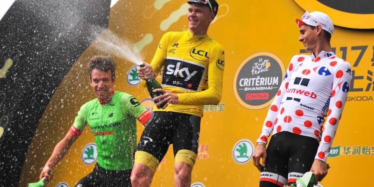 Chris Froome annonce qu'il participera au Tour d'Italie 2018