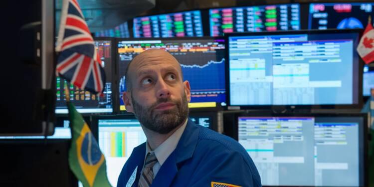 Wall Street, en ordre dispersé, privilégie les valeurs financières