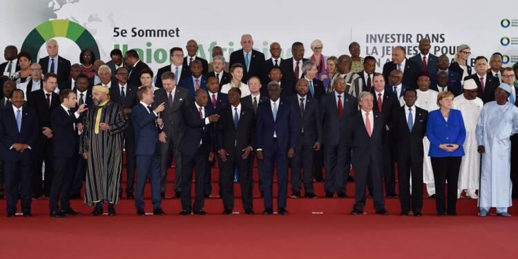 Le sommet Europe Afrique prend des mesures d'urgence sur l'ésclavage en Libye