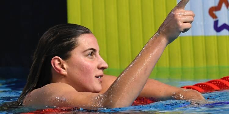 Natation: Bonnet impressionne, record de France sur 100 m en petit bassin