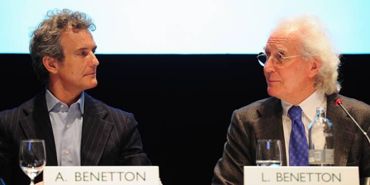 A 82 ans, Luciano Benetton revient redresser son entreprise