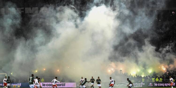Ligue 1: deux matches à huis clos partiel pour l'ASSE, Neymar suspendu contre Lille