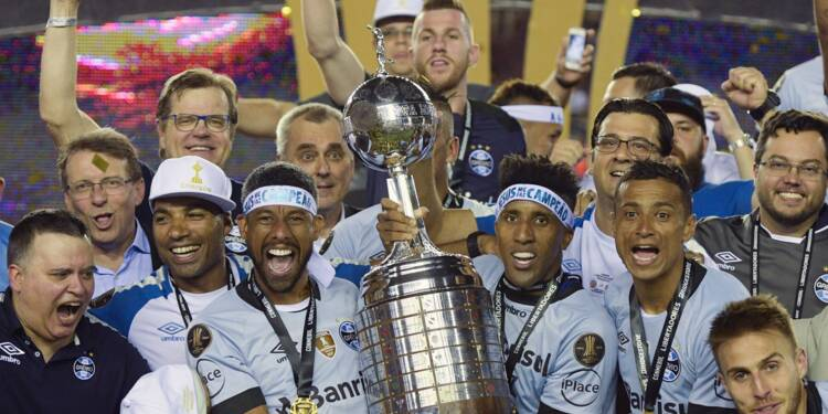 Copa Libertadores: les Brésiliens du Gremio vainqueurs pour la 3e fois
