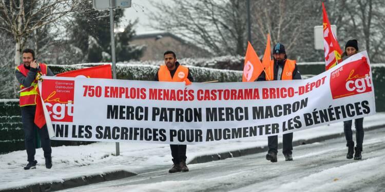 Délocalisation de services en Pologne: les salariés de Castorama se mobilisent