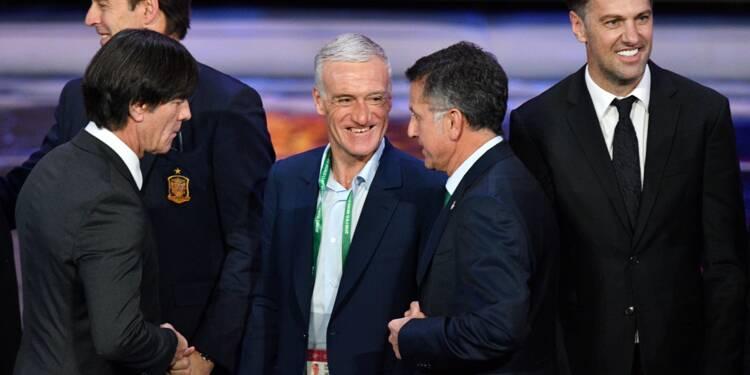 Mondial-2018: les Bleus de Deschamps encore vernis au tirage
