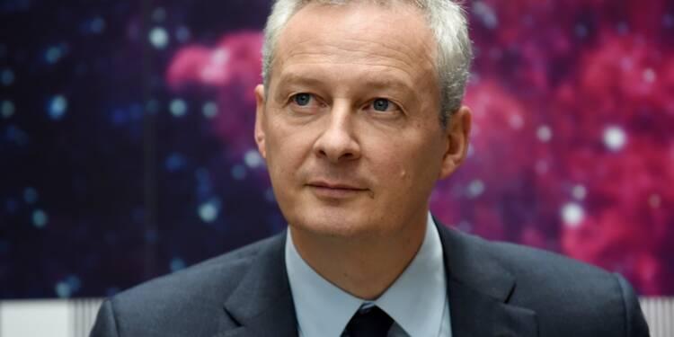 """Le temps où la finance était """"notre ennemie"""" est """"révolu"""" pour Bruno Le Maire"""