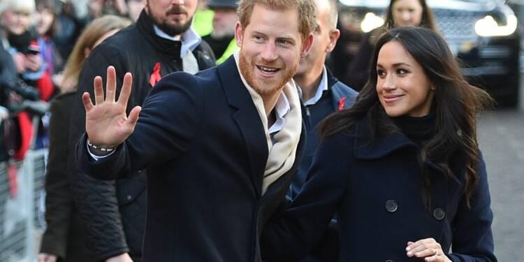Première sortie officielle du prince Harry et de sa fiancée Meghan