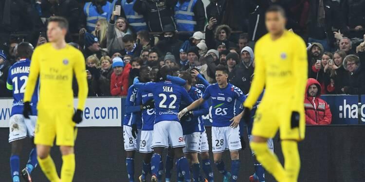 Ligue 1: gros coup de froid du PSG à Strasbourg