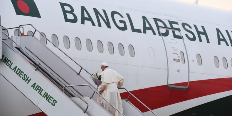 Le pape conclut un voyage en Asie dominé par la crise des Rohingyas