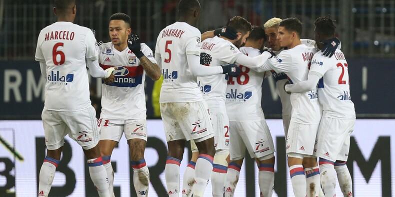 Ligue 1: Lyon, deuxième provisoire