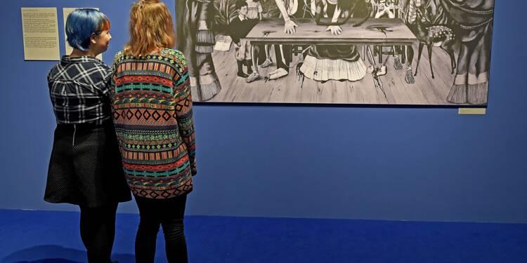 Recherche tableau de Frida Kahlo désespérément, vu à Varsovie en 1955