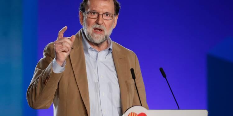 """Espagne: croissance de 3% en 2018 si la """"normalité"""" revient en Catalogne (Rajoy)"""