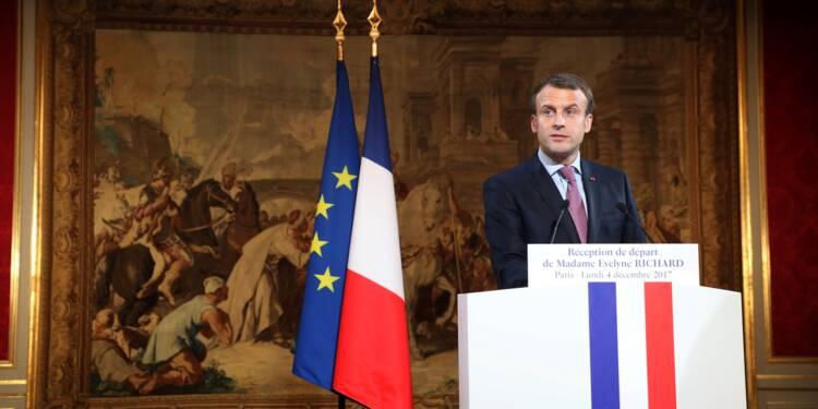 """Statut de Jérusalem: Macron dit sa """"préoccupation"""" à Trump (Elysée)"""