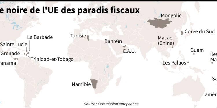 L'UE se dote d'une liste noire de 17 paradis fiscaux