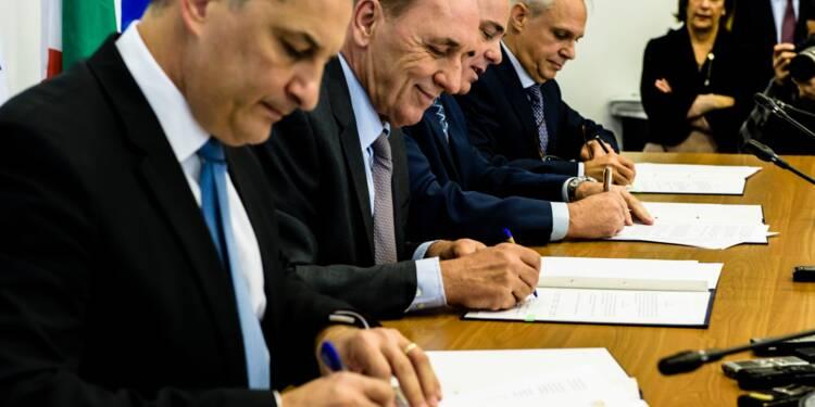 Quatre pays méditerranéens signent un accord pour un immense gazoduc sous-marin