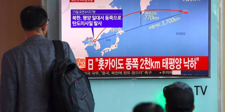 Inquiétude pour le transport aérien après le tir d'un missile nord-coréen