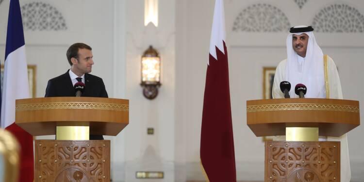 Rafale, Airbus, SNCF... moisson de contrats de Macron au Qatar