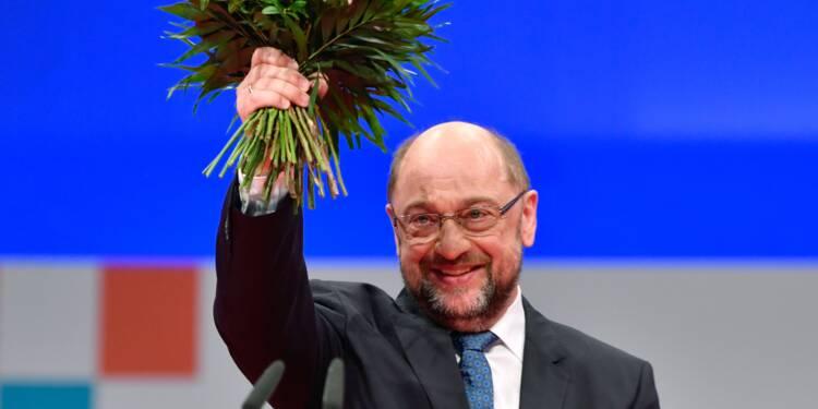 Martin Schulz réélu à la tête du parti social-démocrate allemand