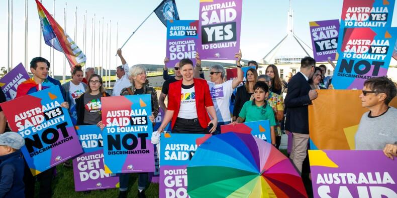 Australie: le Parlement adopte la loi sur le mariage gay