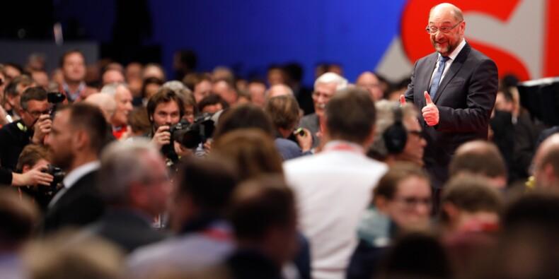 Allemagne: le SPD accepte de mener des discussions avec Merkel
